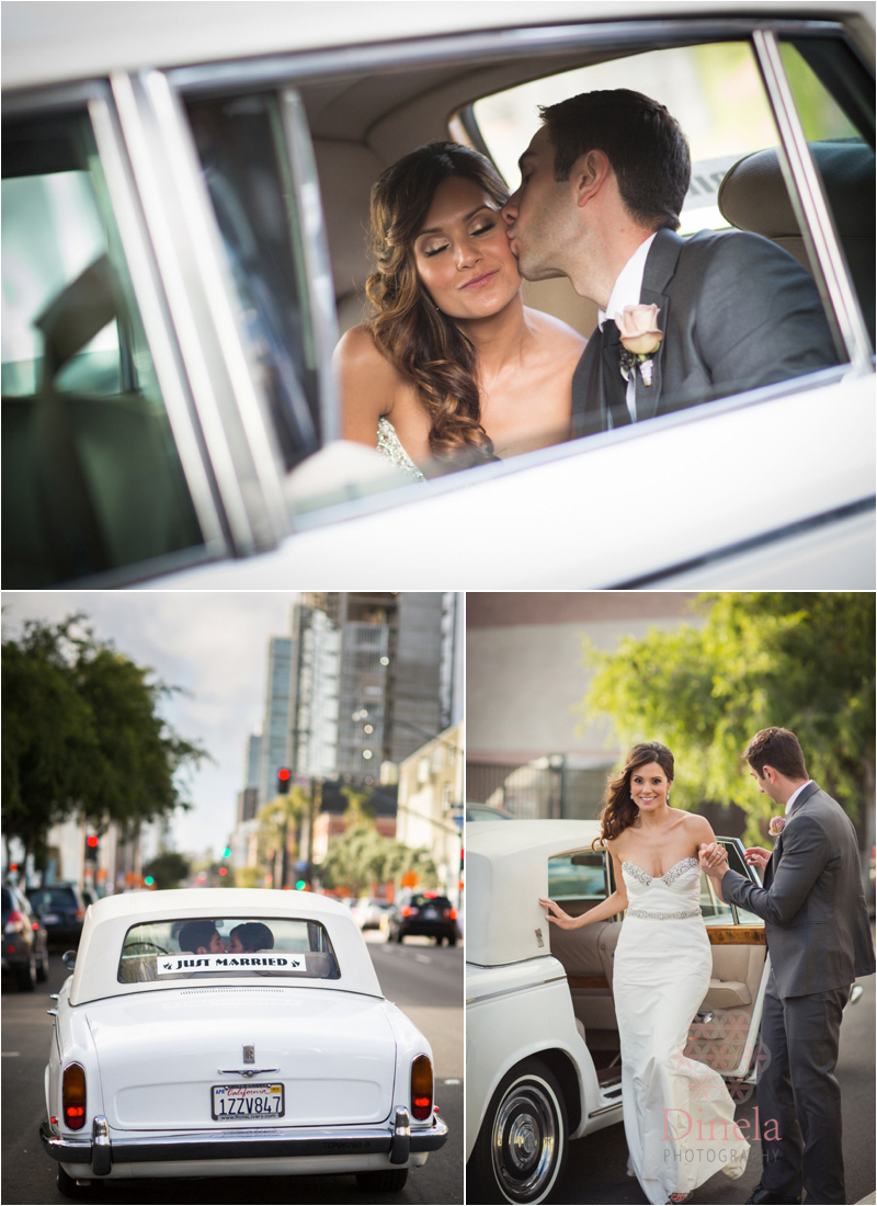 Oliver & Rose wedding downtown San Diego Wedding Photographer 02