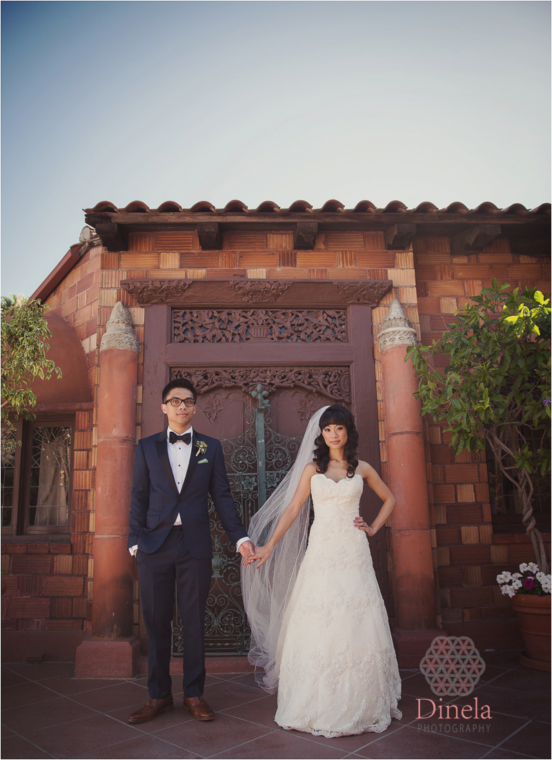 Mission Inn Wedding Ceremony Riverside Wedding Photographer 14