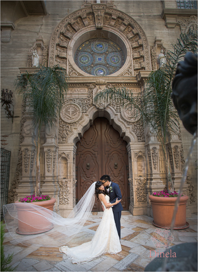 Mission Inn Wedding Ceremony Riverside Wedding Photographer 16
