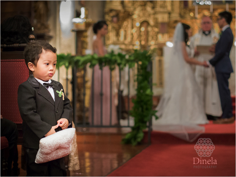 Mission Inn Wedding Ceremony Riverside Wedding Photographer St Francis of Assisi Chapel Ceremony.32